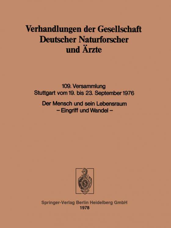 Cover-Bild Der Mensch und sein Lebensraum