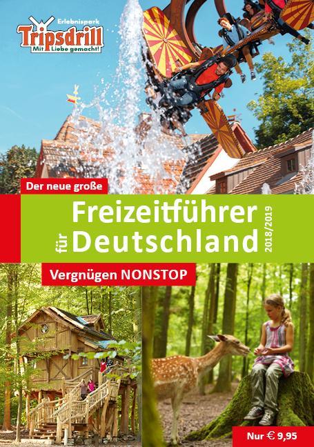 Cover-Bild Der neue große Freizeitführer für Deutschland 2018/2019