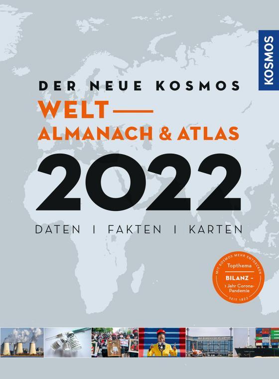 Cover-Bild Der neue Kosmos Welt- Almanach & Atlas 2022