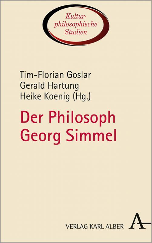 Cover-Bild Der Philosoph Georg Simmel