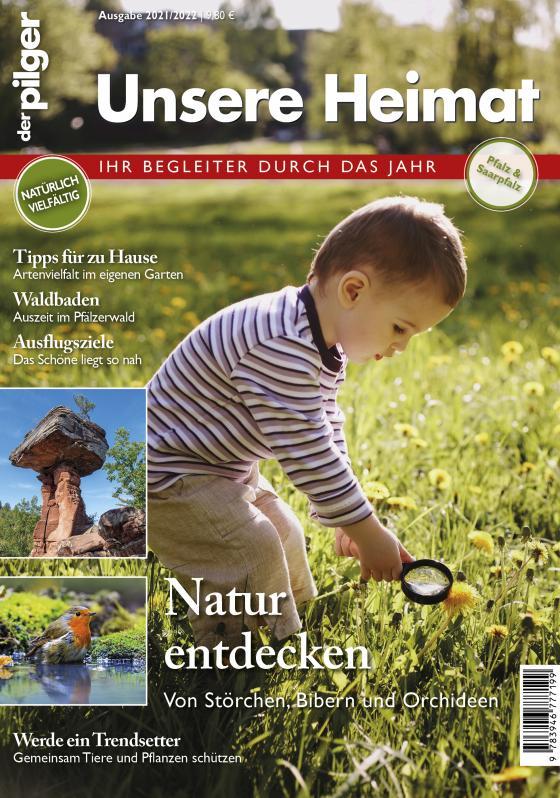 """Cover-Bild """"der pilger"""": Unsere Heimat Pfalz & Saarpfalz"""