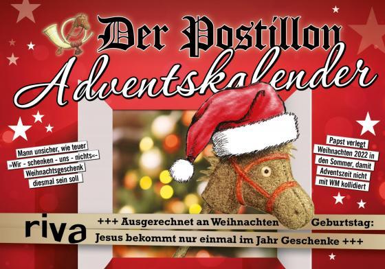 Cover-Bild Der Postillon Adventskalender