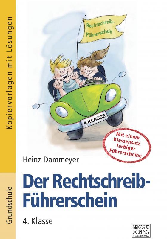 Cover-Bild Der Rechtschreib-Führerschein – 4. Klasse