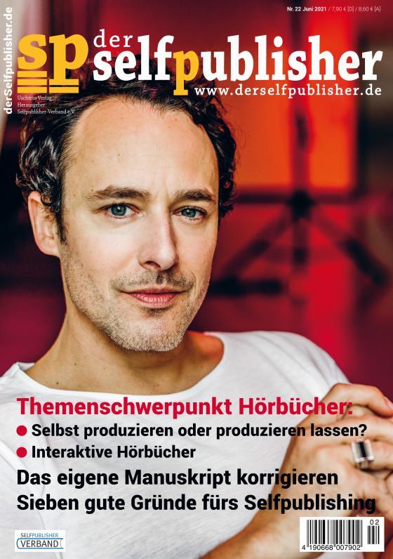 Cover-Bild der selfpublisher 22, 2-2021, Heft 22, März 2021
