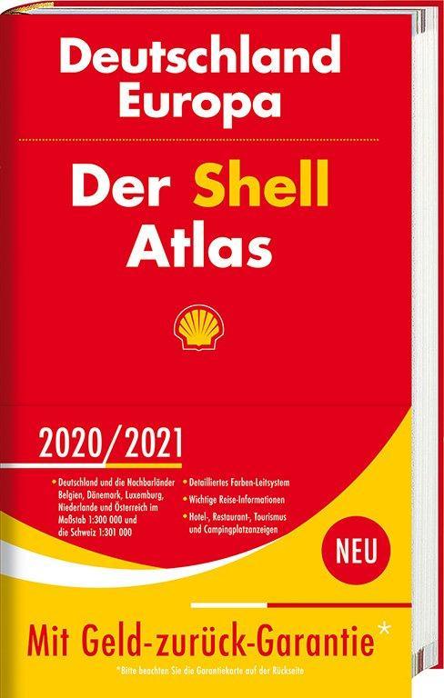 Cover-Bild Der Shell Atlas 2020/2021 Deutschland 1:300 000, Europa 1:750 000
