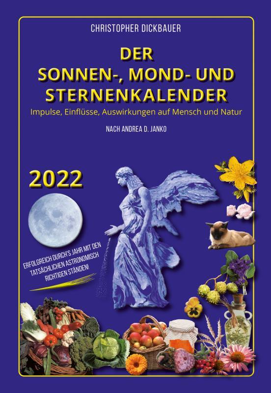 Cover-Bild Der Sonnen-, Mond- und Sternenkalender 2022