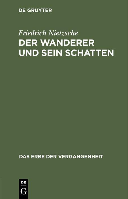 Cover-Bild Der Wanderer und sein Schatten