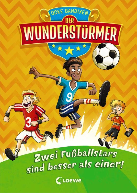 Cover-Bild Der Wunderstürmer 2 - Zwei Fußballstars sind besser als einer!