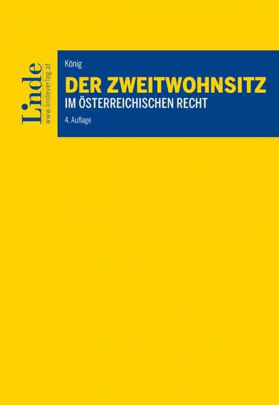 Cover-Bild Der Zweitwohnsitz im österreichischen Recht