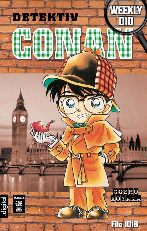 Cover-Bild Detektiv Conan Weekly 010