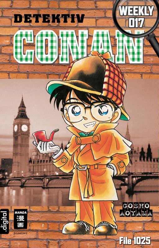 Cover-Bild Detektiv Conan Weekly 017