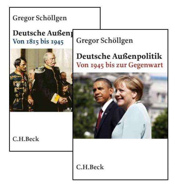 Cover-Bild Deutsche Außenpolitik I: Von 1815 bis 1945. II: Von 1945 bis zur Gegenwart