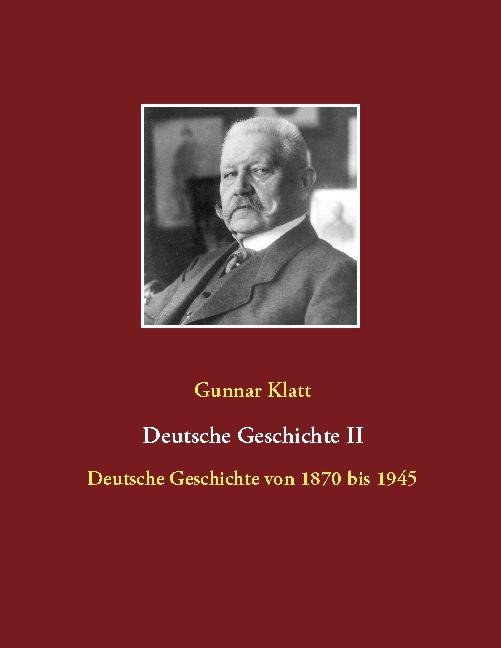 Cover-Bild Deutsche Geschichte II