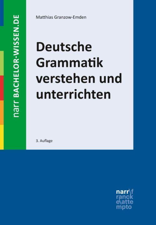 Cover-Bild Deutsche Grammatik verstehen und unterrichten