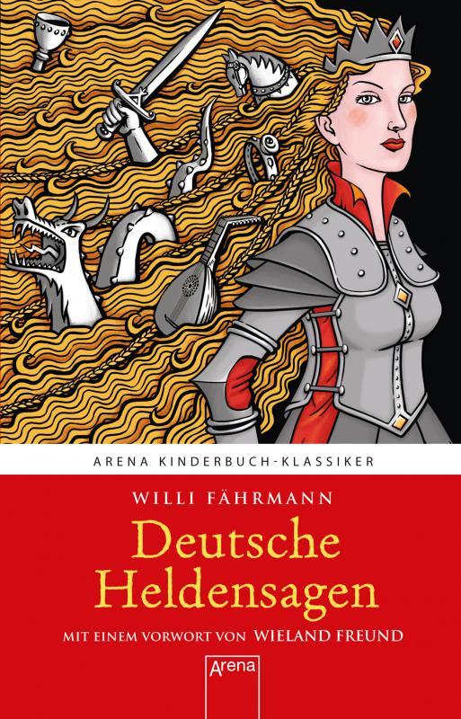 Cover-Bild Deutsche Heldensagen