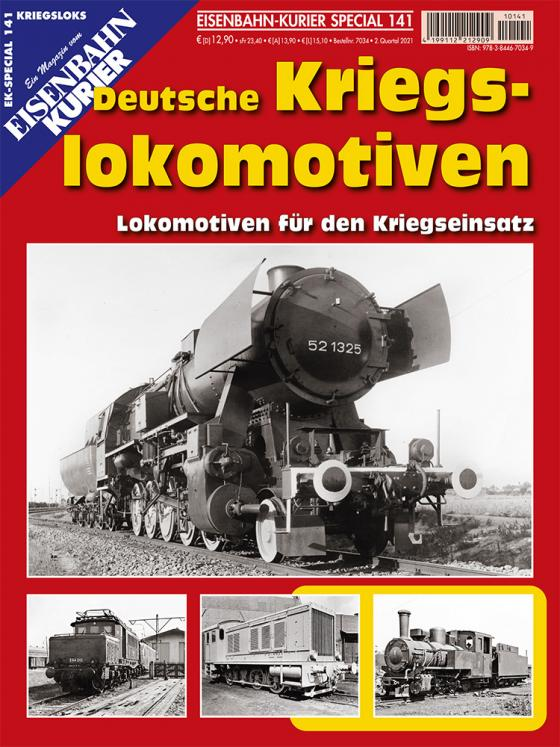 Cover-Bild Deutsche Kriegslokomotiven