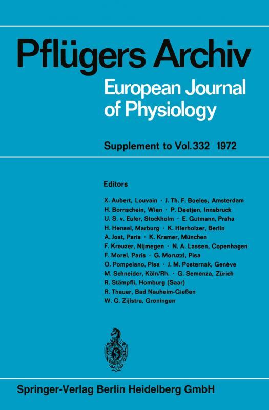 Cover-Bild Deutsche Physiologische Gesellschaft 39. Tagung (Frühjahrstagung)