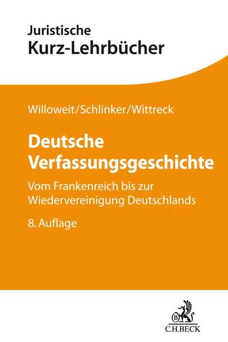 Cover-Bild Deutsche Verfassungsgeschichte
