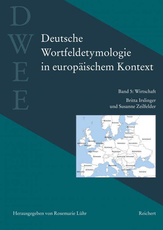 Cover-Bild Deutsche Wortfeldetymologie in europäischem Kontext (DWEE)