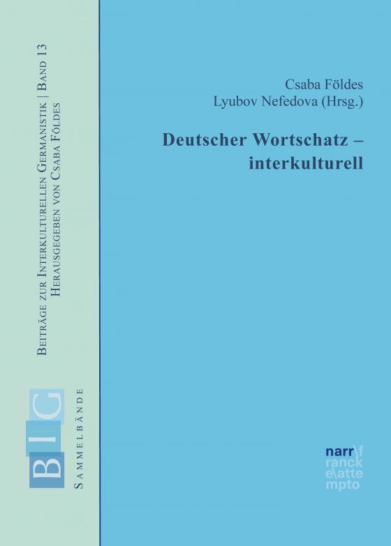 Cover-Bild Deutscher Wortschatz – interkulturell