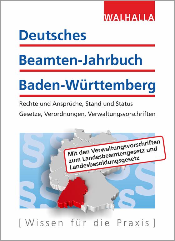 Cover-Bild Deutsches Beamten-Jahrbuch Baden-Württemberg Jahresband 2018
