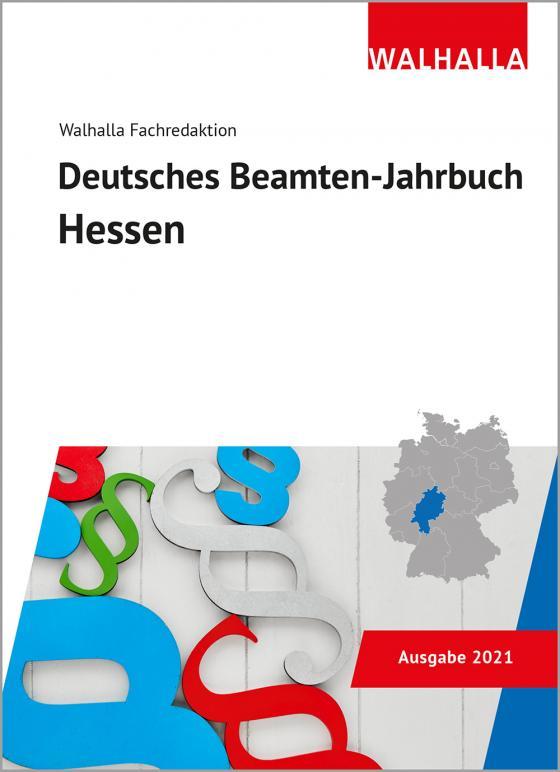Cover-Bild Deutsches Beamten-Jahrbuch Hessen 2021