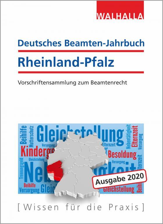 Cover-Bild Deutsches Beamten-Jahrbuch Rheinland-Pfalz 2020