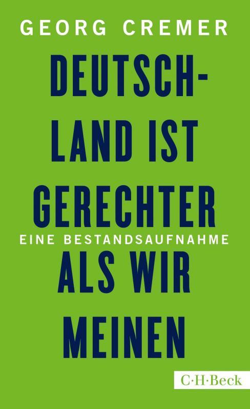 Cover-Bild Deutschland ist gerechter, als wir meinen