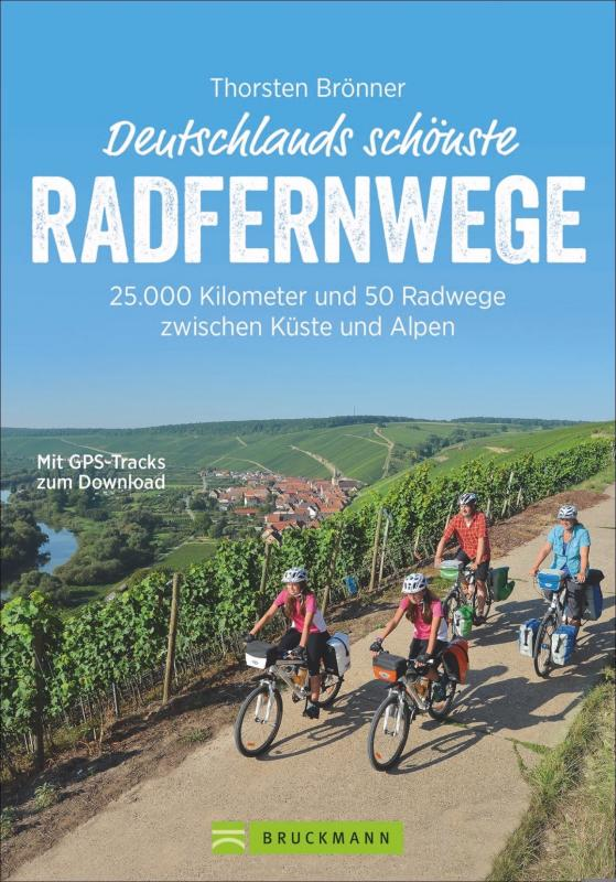 Cover-Bild Deutschlands schönste Radfernwege