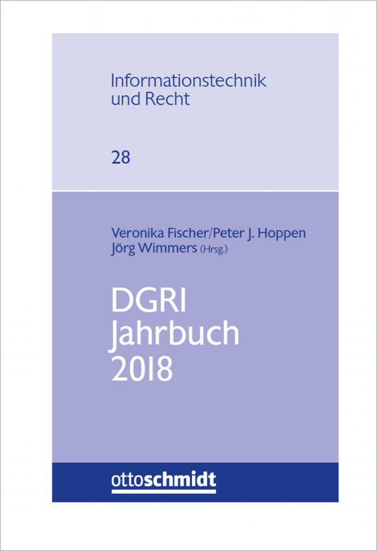 Cover-Bild DGRI Jahrbuch 2018