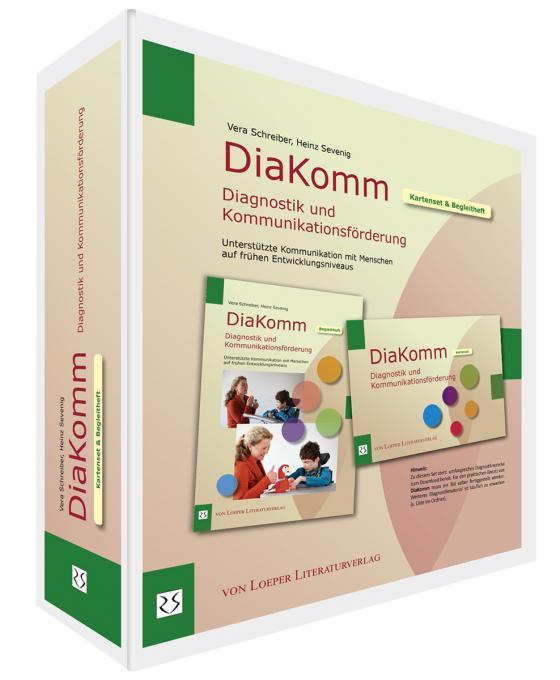 Cover-Bild DiaKomm Diagnostik und Kommunikationsförderung