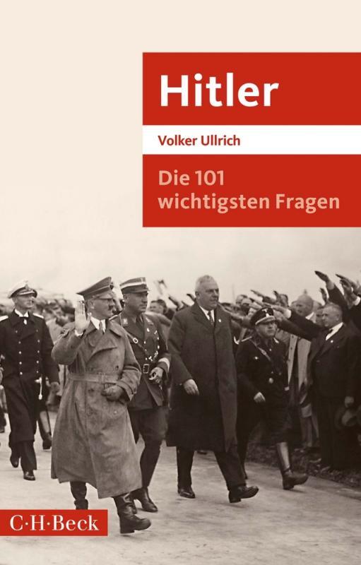 Cover-Bild Die 101 wichtigsten Fragen: Hitler