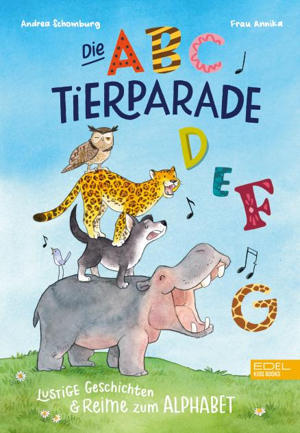 Cover-Bild Die ABC-Tierparade