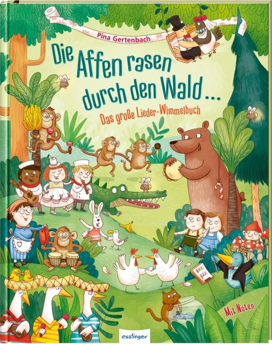 Cover-Bild Die Affen rasen durch den Wald …