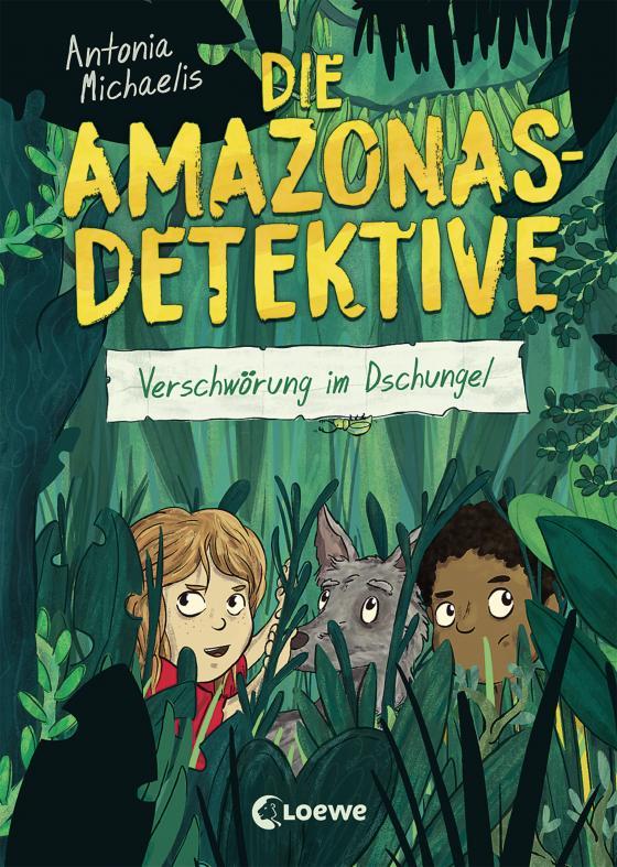 Cover-Bild Die Amazonas-Detektive - Verschwörung im Dschungel