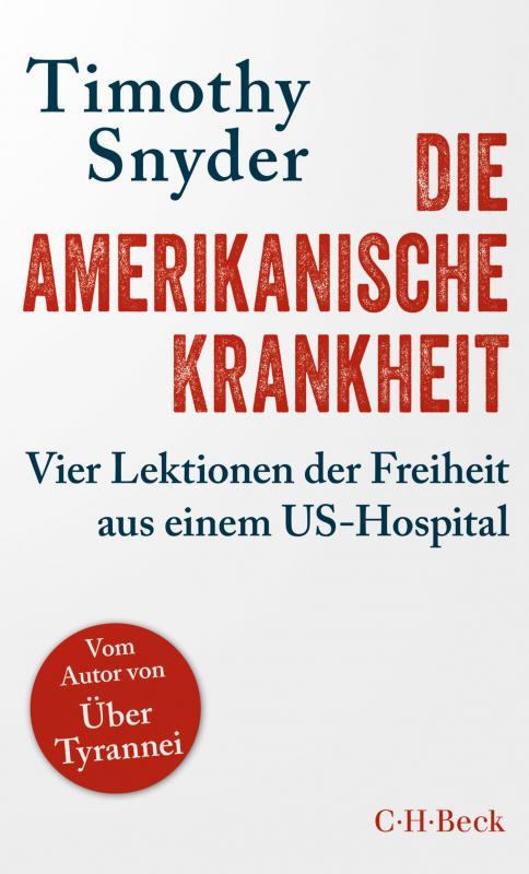 Cover-Bild Die amerikanische Krankheit