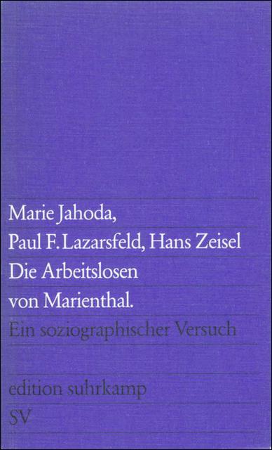 Cover-Bild Die Arbeitslosen von Marienthal