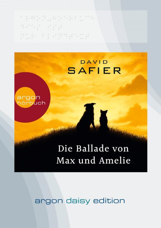 Cover-Bild Die Ballade von Max und Amelie (DAISY Edition)