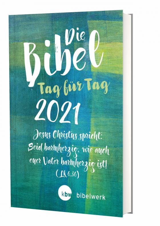 Cover-Bild Die Bibel Tag für Tag 2021 / Großausgabe