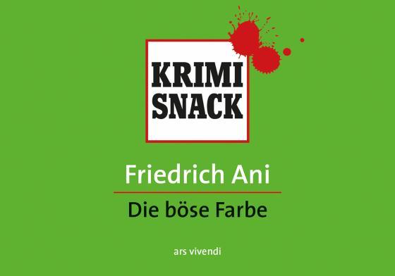 Cover-Bild Die böse Farbe (eBook)