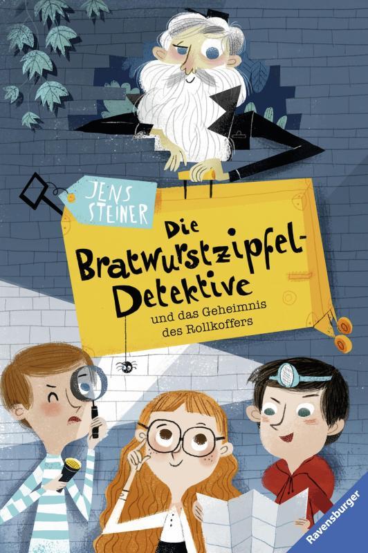 Cover-Bild Die Bratwurstzipfel-Detektive und das Geheimnis des Rollkoffers