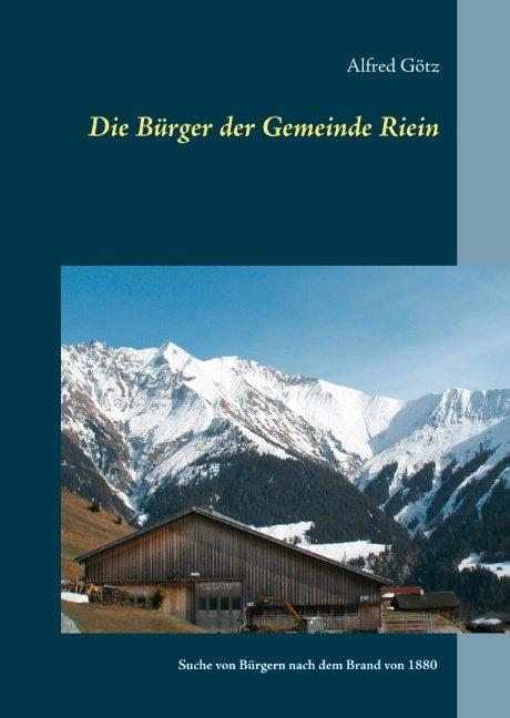 Cover-Bild Die Bürger der Gemeinde Riein