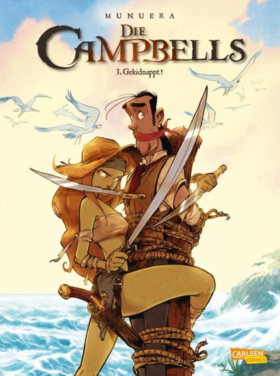 Cover-Bild Die Campbells 3: Gekidnappt!