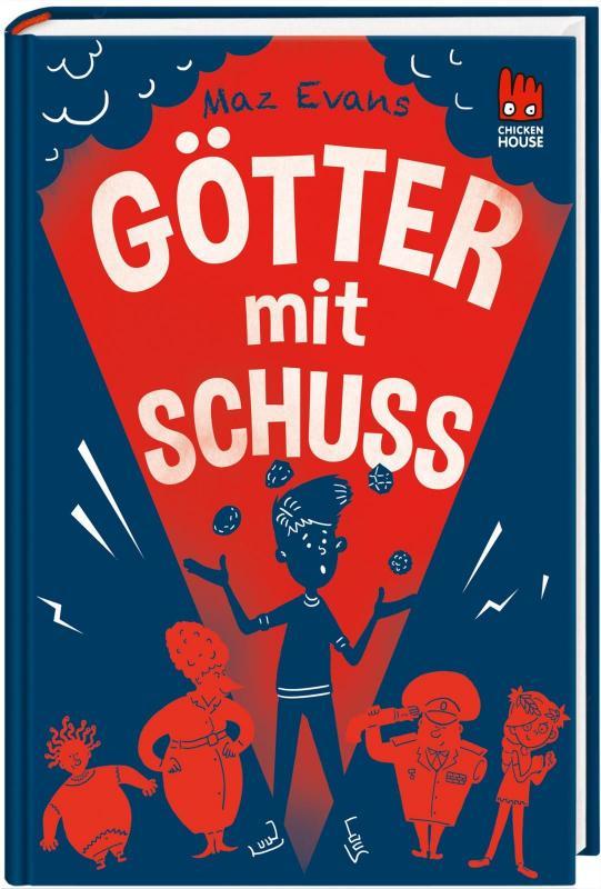 Cover-Bild Die Chaos-Götter 4: Götter mit Schuss