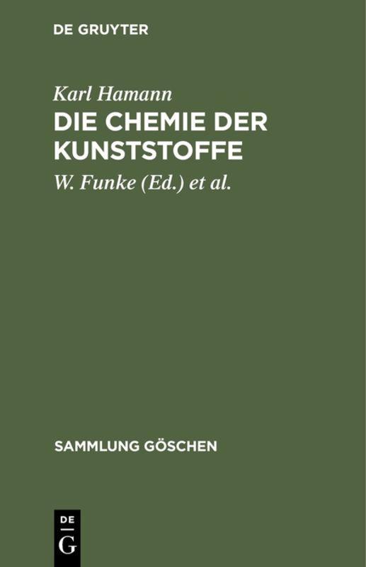 Cover-Bild Die Chemie der Kunststoffe
