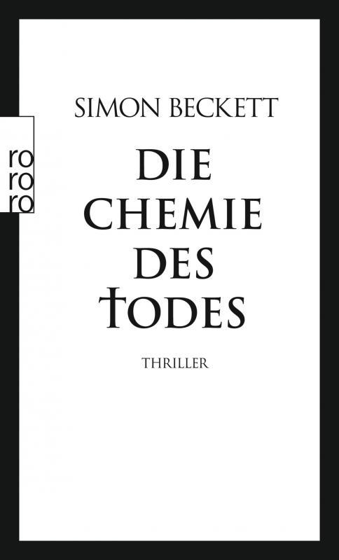 Cover-Bild Die Chemie des Todes