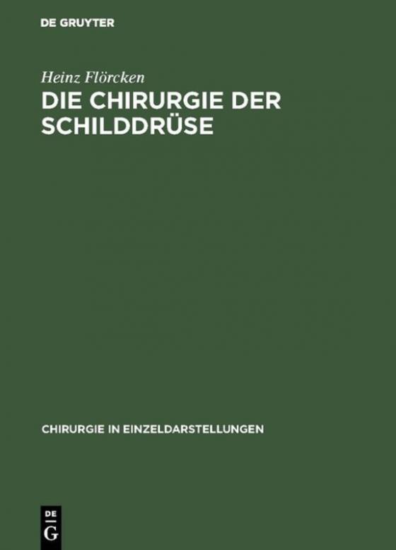 Cover-Bild Die Chirurgie der Schilddrüse