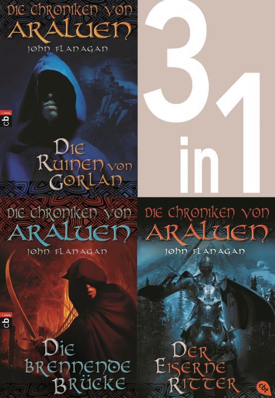 Cover-Bild Die Chroniken von Araluen 1-3: - Die Ruinen von Gorlan / Die brennende Brücke / Der eiserne Ritter (3in1-Bundle)