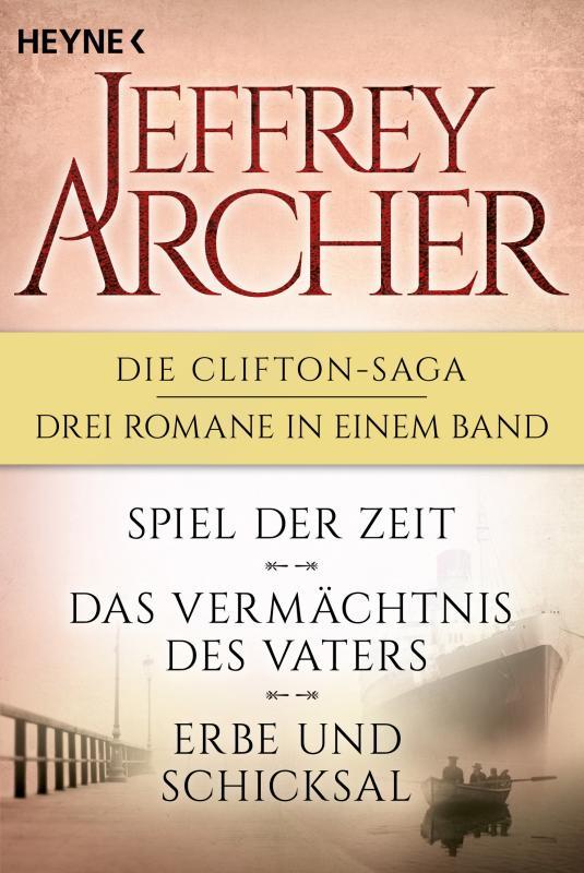 Cover-Bild Die Clifton-Saga 1-3: Spiel der Zeit/Das Vermächtnis des Vaters/ - Erbe und Schicksal (3in1-Bundle)