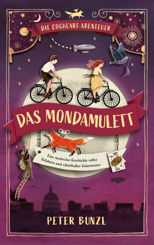 Cover-Bild Die Cogheart-Abenteuer: Das Mondamulett